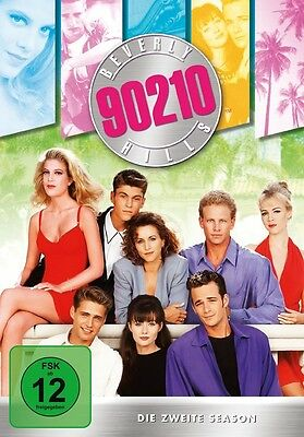 Beverly Hills 90210 Season 2 Mb  8 Dvd Neuf  Jennie Garth/ian Ziering/+