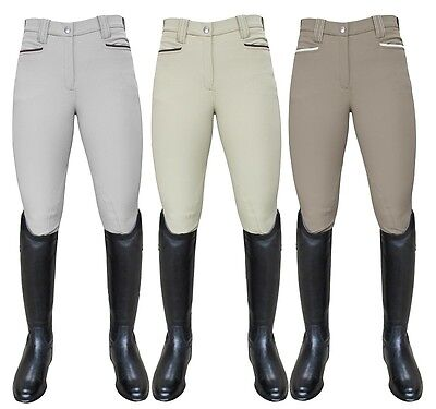 "Mark Todd Ladies Contender Competition Breeches Beige 30"" BNWT Bargain RRP £89"