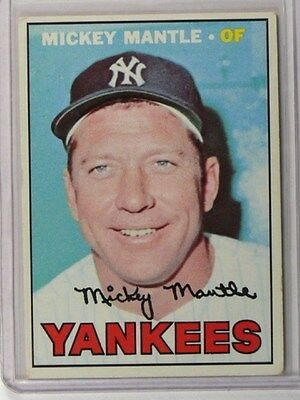 1967 Topps Mickey Mantle #150 VG+ *36777