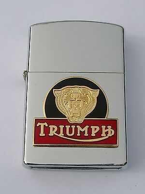 Triumph Tiger motorbike brand new wind proof lighter FREE P&P FATHERS DAY GIFT