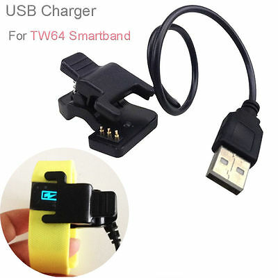 USB Charging Cable for TW64 Smartband Bracelet Wristband Charge TW07 Charger UK
