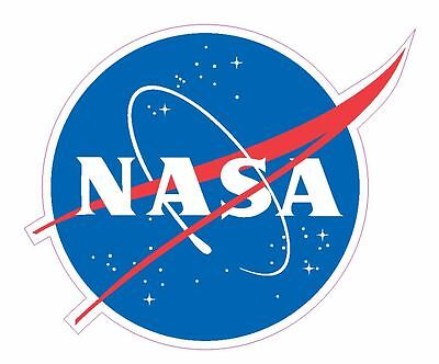 Nasa Meatball Sticker Armed Forces Decal M461