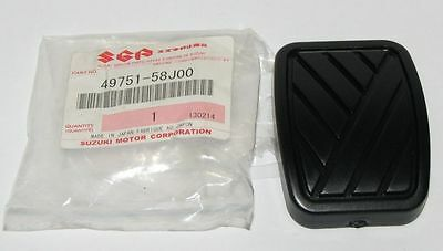BRAND NEW Genuine Suzuki BRAKE / CLUTCH Pedal Rubber Pad Swift Ignis Wagon Jimny