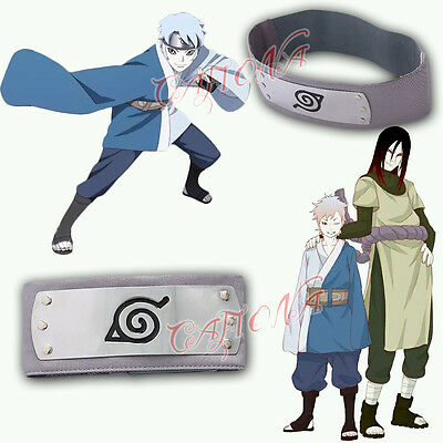 Cafiona Naruto Mitsuki BORUT Cosplay Costume Accessory Headband Halloween Sale