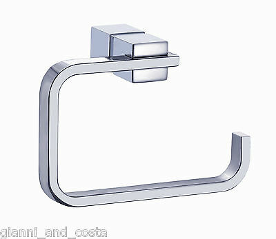 Bathroom Accessories - Toilet Roll Paper Holder - Square Design Model Sente