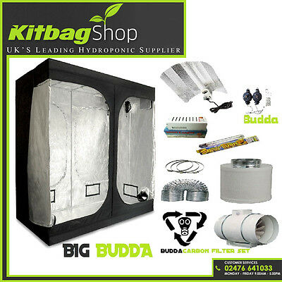 2m X 2m X 200m GROW TENT BUD ROOM 600W Full Kits Fan