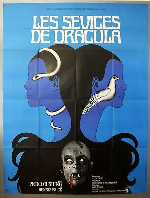 Twins Of Evil -Peter Cushing / Dennis Price- Original French Grande Movie Poster