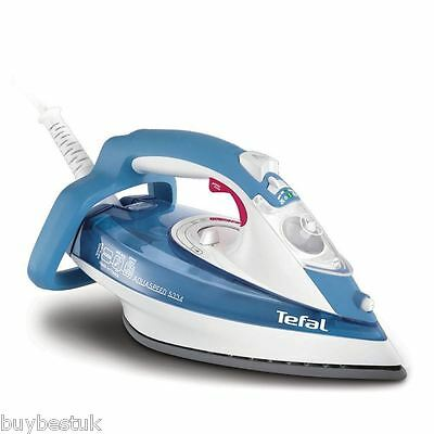 Tefal FV5334 2400W Ultraglide Soleplate Aquaspeed Steam Iron New