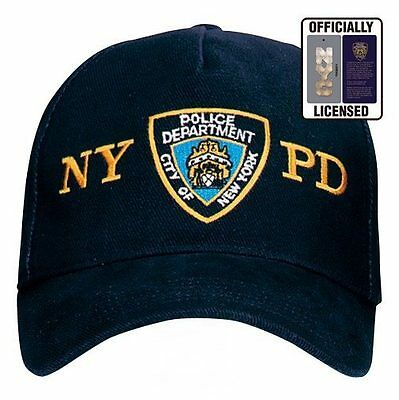 Casquette NEW YORK POLICE DEPARTEMENT NYPD Taille Unique Ajustable