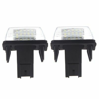 2pcs SMD LED Placa Matricula Coche Lampara Peugeot 206 207 306 307 Citroen T5