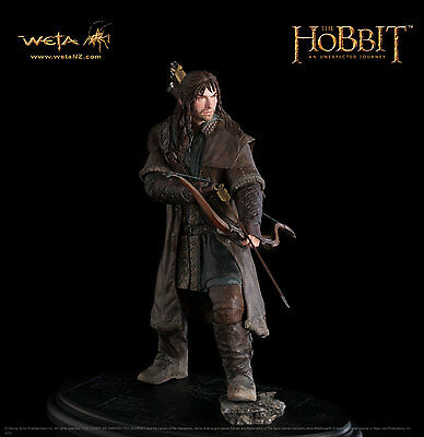 WETA THE HOBBIT AN UNEXPECTED JOURNEY KILI THE DWARF Zwerg 1:6 RESIN WETA CAVE