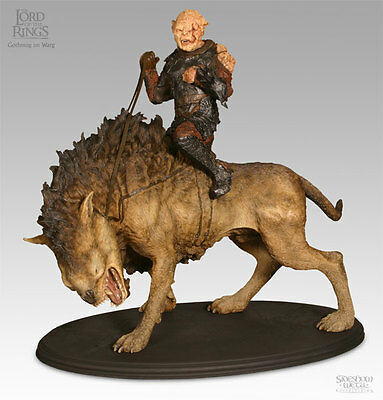 Lord of the Rings Gothmog on Warg Sideshow Collectibles OVP / NEU