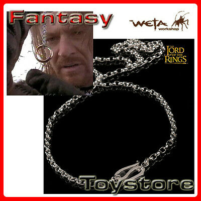 Lord of the Rings silberne Kette Sterling Silver Chain of Frodo Baggin Weta Cave