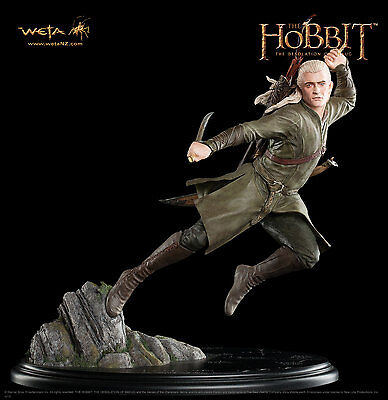 Hobbit, Legolas Greenleaf Statue Weta Cave Limited 1500. LotR. NOW ! IN STOCK !!