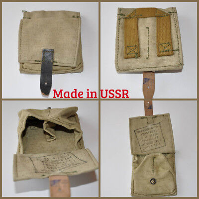 NEW! USSR RUSSIAN ARMY ORIGINAL POUCH FOR TWO F1 GRENADE