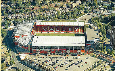 CHARLTON ATHLETIC.THE VALLEY. AERIAL VIEW PHOTO PRINT. 8in x 10in.