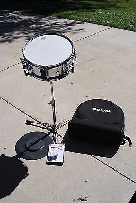 Yamaha Student Snare Drum Set Backpack Stand Rubber Practice Pad KSD 225