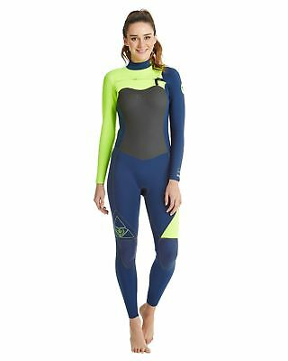 NEW ROXY™  Womens 3/2 AG47 Performance Chest Zip Steamer Wetsuit Womens Surf