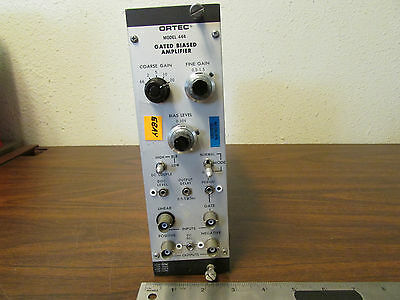 EG&G Ortec Model 444 Gated Biased Amplifier NIM BIN NIMBIN Plugin