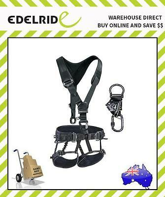 Edelrid CORE Sit Harness + CORE Top + Chest Ascender Kit (FULL BODY HARNESS)