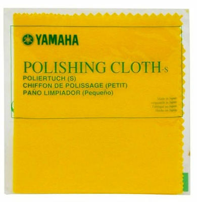 Small Yamaha Polishing Cloth for Brass, Wood, Lacquer. Free postage in Australia