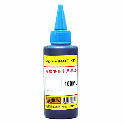 New Type 1pcs 100ml Cyan Cartridge Refill Ink for All Printer office Supplies