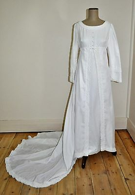 Vintage 60's TERRY COOPER Overlay Skirt Wedding Dress