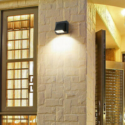 3W LED Outdoor Wall Sconce Light Fixture Waterproof Lamp Building Exterior Patio