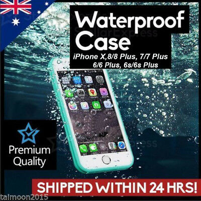 WaterProof ShockProof DirtProof Thin Case Cover For Iphone 7 6s 5s Plus New