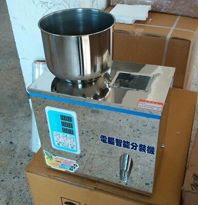 2-100g Semi-Automatic Particle Subpackage Device Weighing and Filling Machine