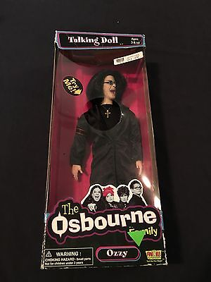 2002 Fun4All The Osbourne Family Ozzy Doll