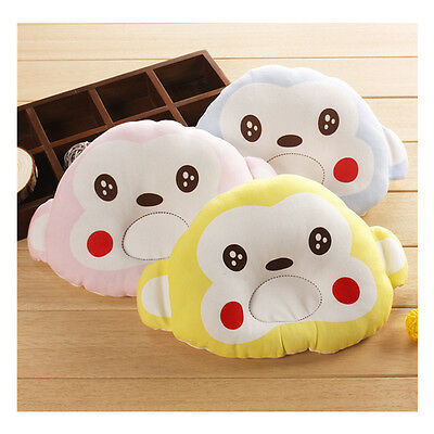 Cartoon Pattern Pillow Newborn Infant Baby Support Cushion Pad Prevent Flat Head