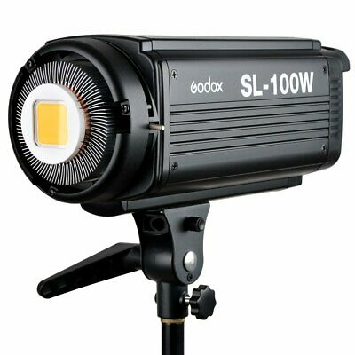 GODOX SL-100W 5600K Camera Camcorder Studio White Continuous LED Light w/Remote