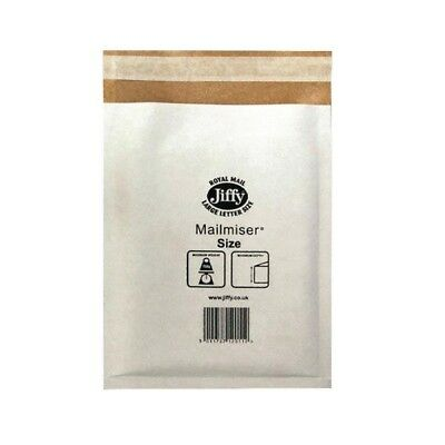Jiffy Mailmiser 340x445mm Pack of 50 White JMM-WH-7