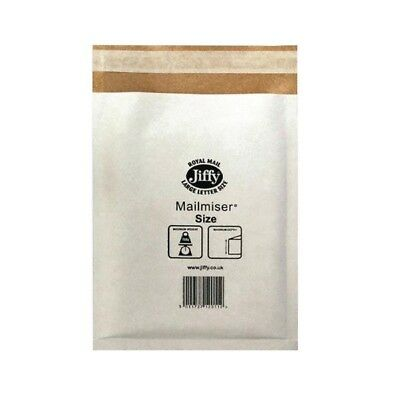 Jiffy Mailmiser 260x345mm Pack of 50 White JMM-WH-5