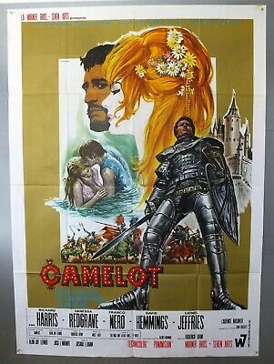 Camelot - Richard Harris / Franco Nero - Original Italian Two Sheet Movie Poster