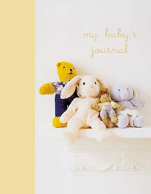 My Baby's Journal Unisex - keepsake book perfect gift for any occassion