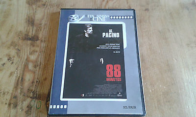Como nuevo - DVD de la película  88 MINUTOS - Al Pacino - Item For Collectors