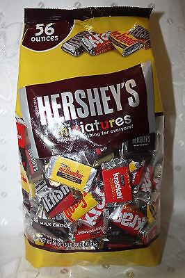 Hershey's Miniatures A Little Something for Everyone 1.58kg Bag