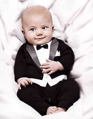 Baby Boy Halloween Outfit 3D Print tuxedo Special Occasion Wedding Birthday gift