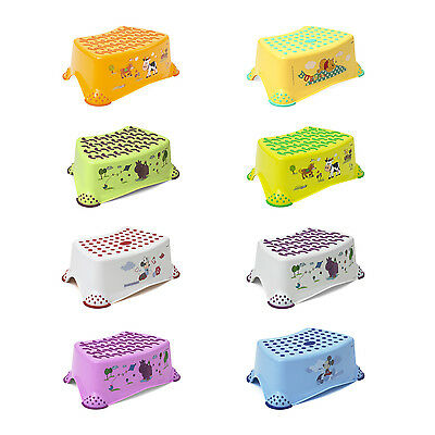 Baby Step Stool, available in 8 models and different colours