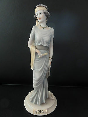 Belcari Figurine from Capodimonte - Lady With Fan