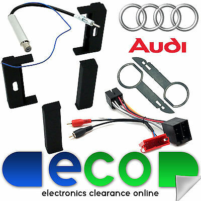 AUDI TT 8N 1998 - 2006 MK1 Rear Bose Audio System Car Stereo Upgrade Fitting Kit