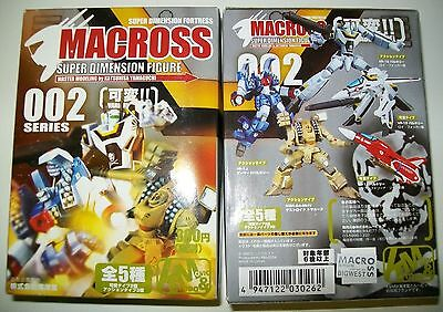 Macross Robotech Super Dimension Fortress Figure Gashapon Robot Full Set