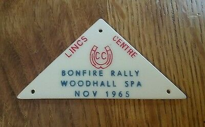 Equestrian CARAVAN CLUB LINCS CENTRE horse rally Woodhall Spa Wolds 1965