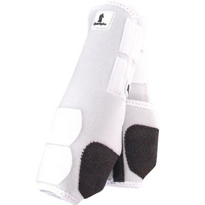 Classic Equine Legacy Boots - White - Medium Fronts