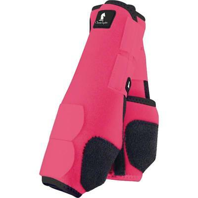Classic Equine Legacy Boots - Pink - Medium Fronts