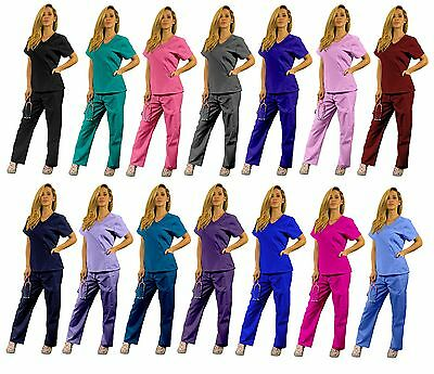 Women's Super Comfy Medical Scrubs set Nursing Uniform