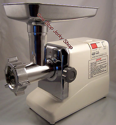 Tasin TS-108 Electric Meat Grinder -  New, Sausage Stuffer, Mincer, Whitetail