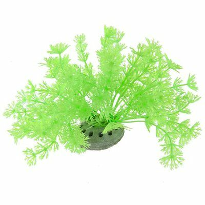 Sourcingmap Plastic Fish Tank Water Plant/Grass, 4.3-inch, Green